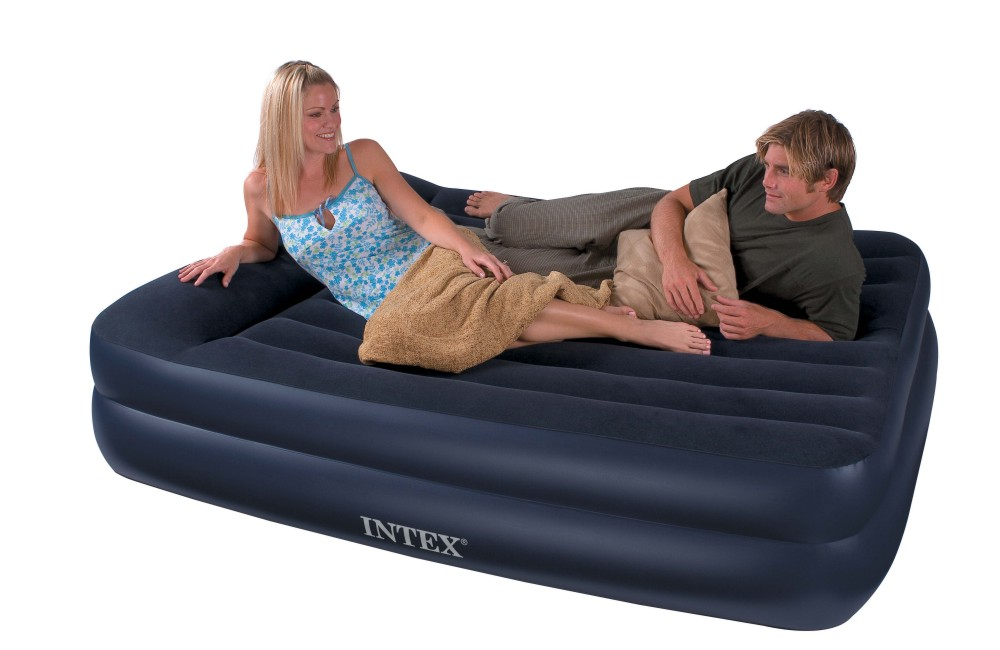 Queen size air mattress intex air bed - Matelas gonflable ez bed ...